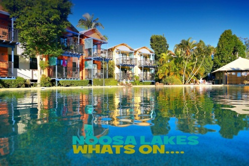 Arrive, Relax & Enjoy at Noosa Lakes Resort!