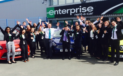 Enterprise rent a car staff