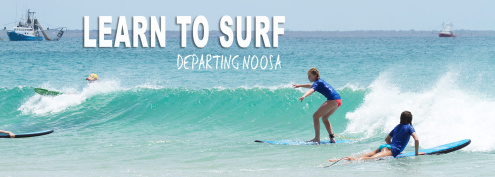 Surf lessons Noosa