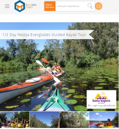 Noosa Everglades Guided Kayak Tour is now Live on the Tourism Town Marketplace!